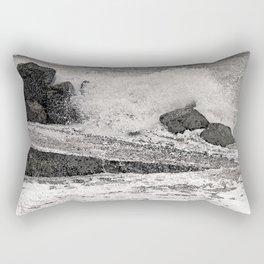 Angry Sea I Rectangular Pillow