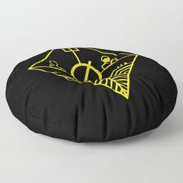 Trench Floor Pillow