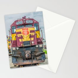 Wisconsin Central Ltd Engine 7525 Operation Lifesaver Livery Train Stationery Cards