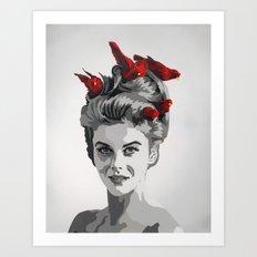Ann Margret Art Print