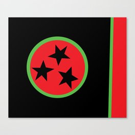 BLK Tennessee Canvas Print