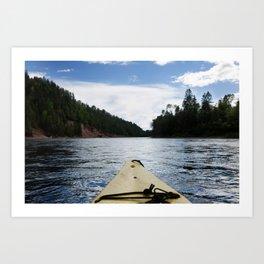 river bonaventure Art Print