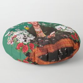 Wings to Fly Frida Kahlo Floor Pillow