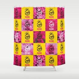 HAPPY Korean Shower Curtain
