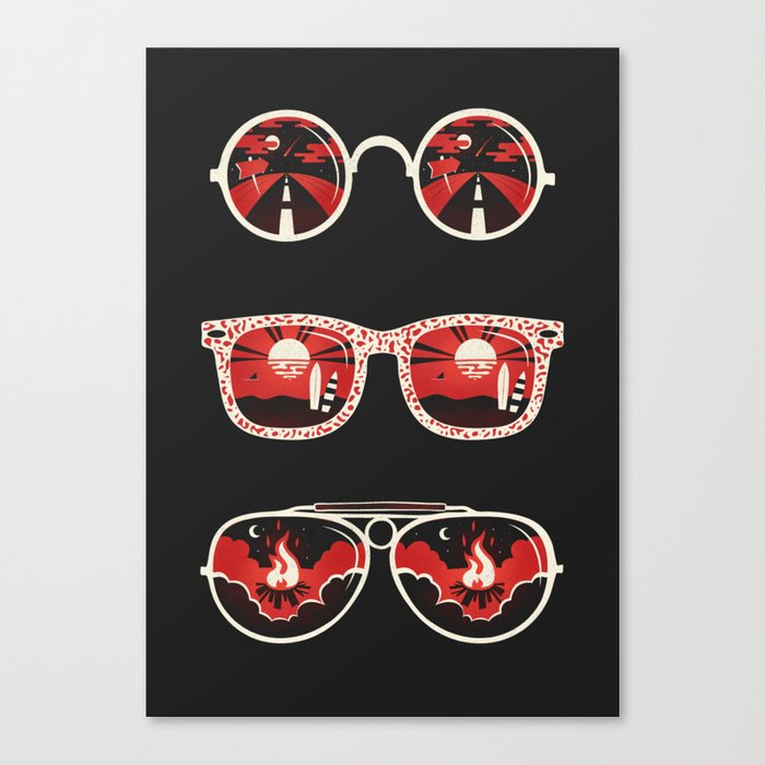 Summer hypnosis Canvas Print