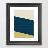 Geo Block No. 4 Framed Art Print