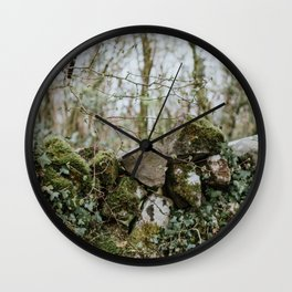 When Abounding Hedges Ring Wall Clock