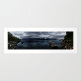 Lake Quinalt Art Print