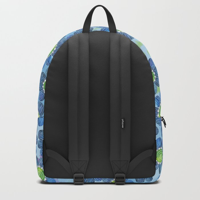 Blue Whimsy Backpack