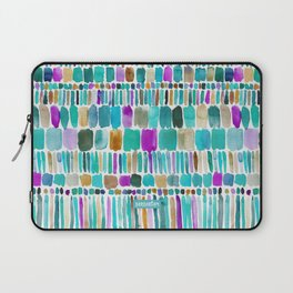 DASHED Colorful Tribal Watercolor Laptop Sleeve
