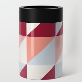 Trio (maroon) Can Cooler