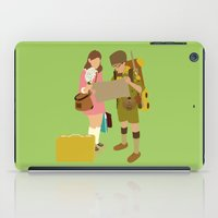 moonrise kingdom iPad Cases featuring moonrise kingdom by Live It Up