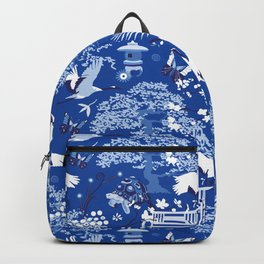My chinese garden – my sanctuary Backpack