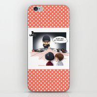 kpop iPhone & iPod Skins featuring Kpop UNIQ Wang Yibo  BD-03 by Rei Lydia