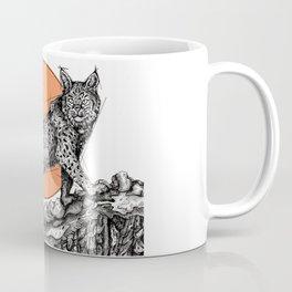 Lynx Sun Coffee Mug