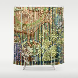 Driving Out Miss Martineau Shower Curtain