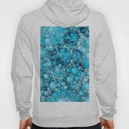 Ocean Atlantic Blue Bubble Abstract Hoody