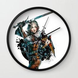 Ciri - The Witcher Wild Hunt Wall Clock