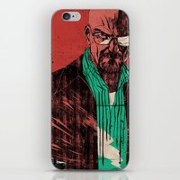 breaking iPhone & iPod Skins featuring Breaking bad by Toni Infante