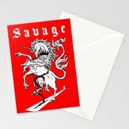 Savage-Unicorn Stationery Cards