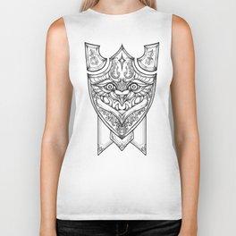 onyx piggy knight crest Biker Tank