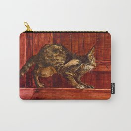 Cats series - Acrylic and tempera Carry-All Pouch
