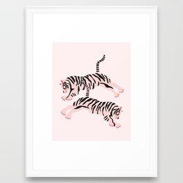 fierce females Framed Art Print