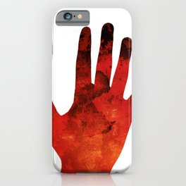 Caught Red Handed iPhone Case