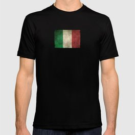 Old and Worn Distressed Vintage Flag of Italy T-shirt