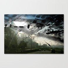 Retrollage 1.. Canvas Print