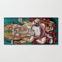 Om Ganeshaya Namah Canvas Print