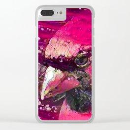 Redbird Tribute Clear iPhone Case