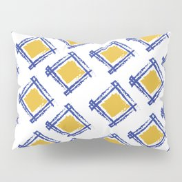 Tribal pattern, abstract, contemporary indian art Pillow Sham