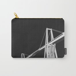 Maracaibo Lake Bridge BLACK Carry-All Pouch