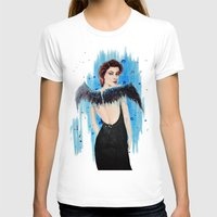 angel T-shirts featuring Angel by Alina Rubanenko