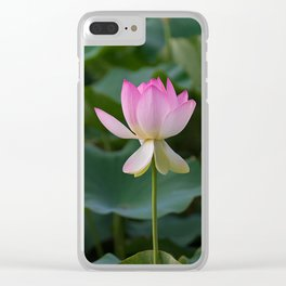 water lily #society6 #decor #buyart Clear iPhone Case