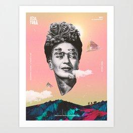Frida Kahlo - Recultura 001 Art Print