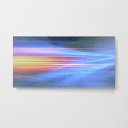 Painted light Metal Print