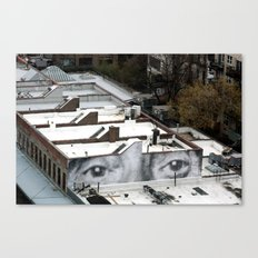 Eyes :: JR in New York City Canvas Print