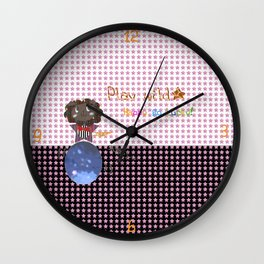 Play Wild Wall Clock