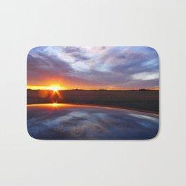 'Prarie Sunrise' Bath Mat