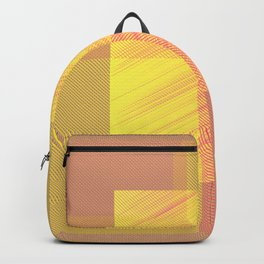 Abstract hot desert Backpack