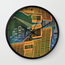 Spatial Structure 27-07-16 Wall Clock