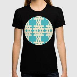 Doodle Woven Pattern T-shirt