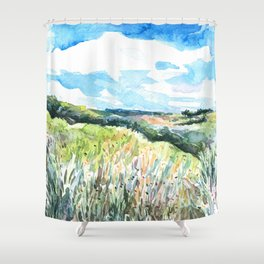 Day Hills 1 Shower Curtain