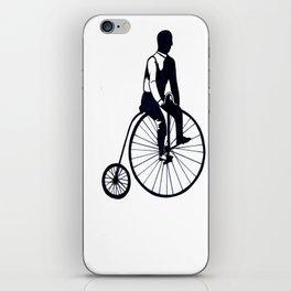 Vintage Bike iPhone Skin