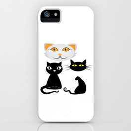 Funn Cats iPhone Case