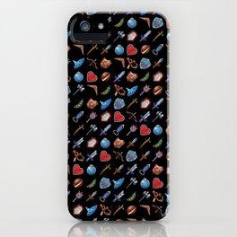 A Hero's Arsenal (Black) iPhone Case