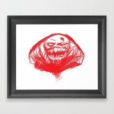 Menace  Framed Art Print