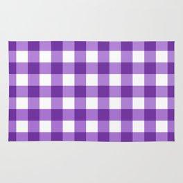 Purple Buffalo Check - more colors Rug